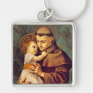 St. Anthony of Padua with Baby Jesus Keychain