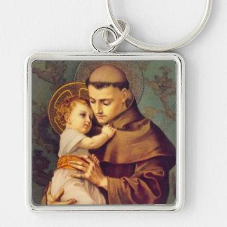 St. Anthony of Padua with Baby Jesus Keychain