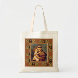 St. Anthony of Padua with Baby Jesus Tote Bag