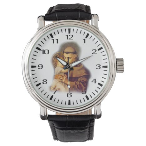 St. Anthony of Padua with Baby Jesus Watch