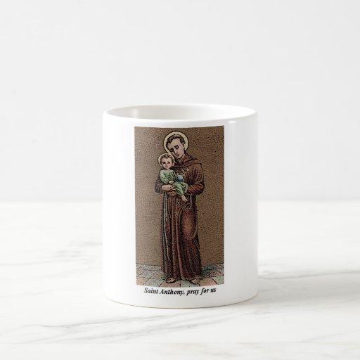 St. Anthony Pray For Us Mugs
