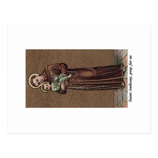 St. Anthony Pray For Us Postcard