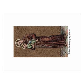 St. Anthony Pray For Us Postcard