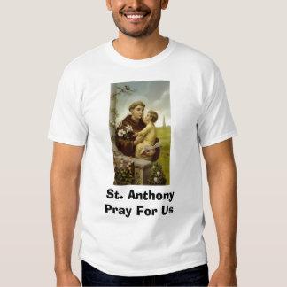 St. Anthony Pray For Us Shirt