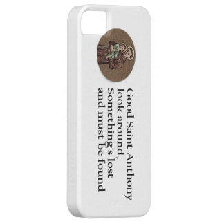 St. Anthony Prayer iPhone SE/5/5s Case