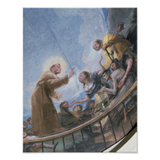 St. Anthony Preaching Poster