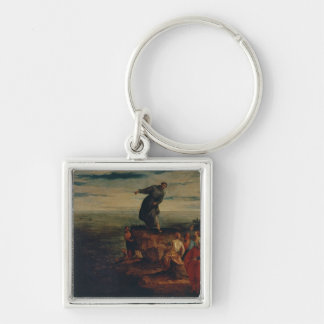 St. Anthony Preaching to the Fish, c.1580 Keychain