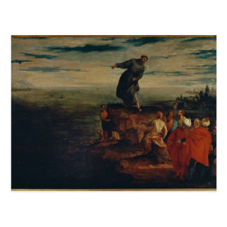 St. Anthony Preaching to the Fish, c.1580 Post Card