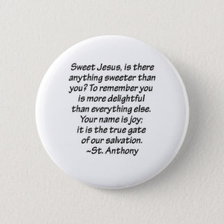 St. Anthony Quote Button