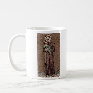 St. Anthony Quote Classic White Coffee Mug