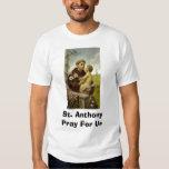 St Anthony ruega para nosotros Playera