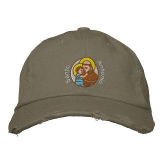 St Anthony - Sant'Antonio - Santo Antonio Embroidered Baseball Hat