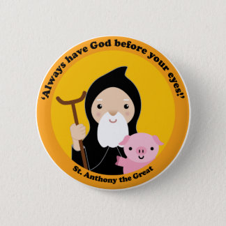 St. Anthony the Great Button
