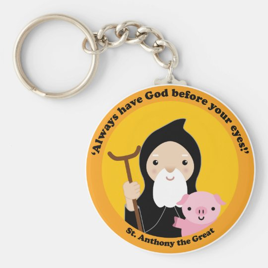St. Anthony the Great Keychain