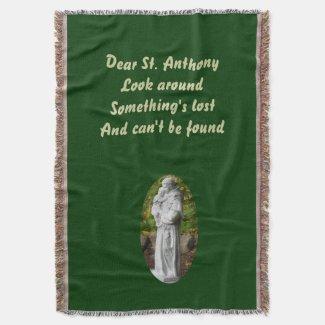 St. Anthony Throw Blanket