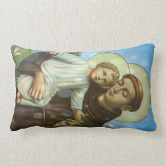 St.Anthony Throw Pillow