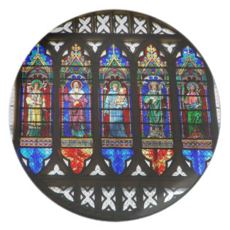 St Anthony's rose window Party Plates