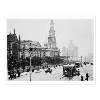 St antiguo Sydney Australia c1898 de George de la  Postales