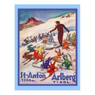 St Antón, Arlberg; El Tirol Tarjetas Postales