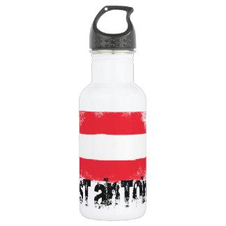St Anton Grunge Flag Water Bottle