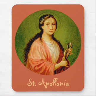 St. Apollonia (BLA 001) Vertical Mouse Pad