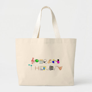 ST at Work Large Tote Bag