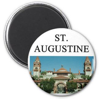 st.augistine 2 inch round magnet