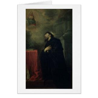 St. Augustine, 1663 Card