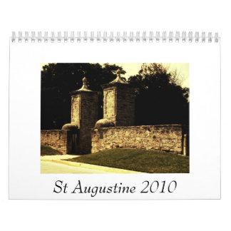 St Augustine 2010 Wall Calendars