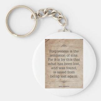 St. Augustine #2 Keychain