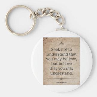 St. Augustine #4 Key Chain