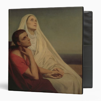 St. Augustine and his mother St. Monica, 1855 Binder