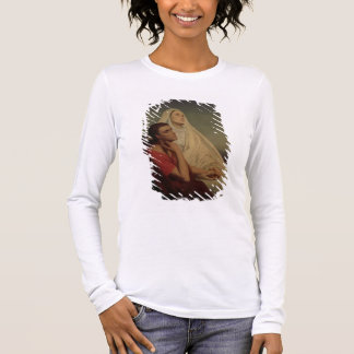 St. Augustine and his mother St. Monica, 1855 Long Sleeve T-Shirt