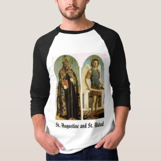 St. Augustine and St. Michael T-Shirt