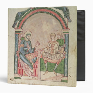 St. Augustine Arguing with Faustus 3 Ring Binder