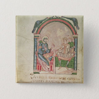 St. Augustine Arguing with Faustus Button