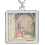 St. Augustine Arguing with Faustus Personalized Necklace