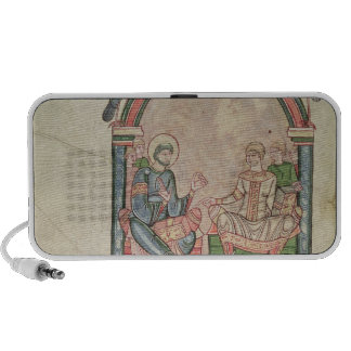 St. Augustine Arguing with Faustus Portable Speaker