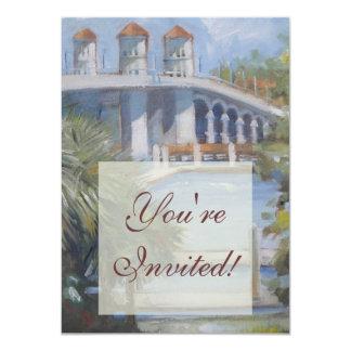St Augustine Bridge of Lions Card