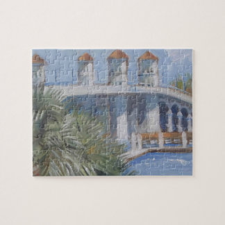 St Augustine Bridge of Lions Jigsaw Puzzle