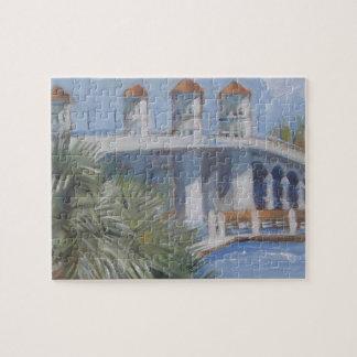 St Augustine Bridge of Lions Jigsaw Puzzles