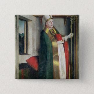 St. Augustine  c.1435 Button