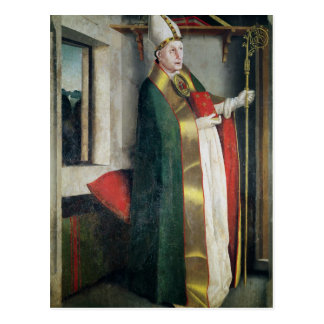 St. Augustine  c.1435 Postcard