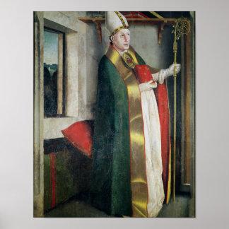 St Augustine c.1435 Póster