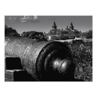 St Augustine Cannon Art Photo