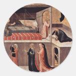St Augustine da esta hamaca de A caida Etiqueta Redonda