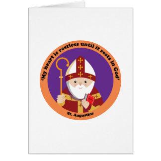 St Augustine del hipopótamo Felicitacion