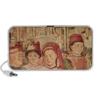 St. Augustine Departing for Milan Laptop Speaker