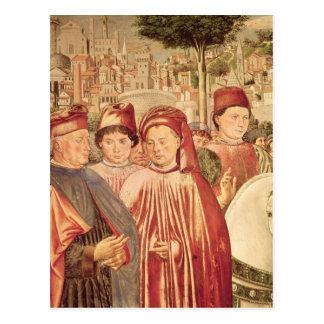 St. Augustine Departing for Milan Postcard