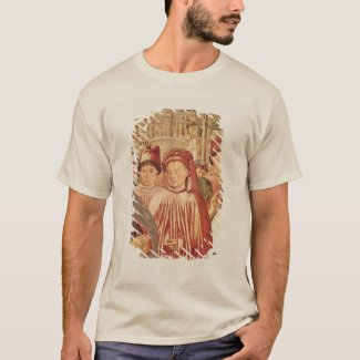 St. Augustine Departing for Milan T-Shirt